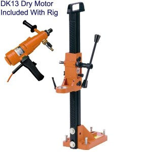 CORE CUT HANDHELD CORE DRILL WITH STAND